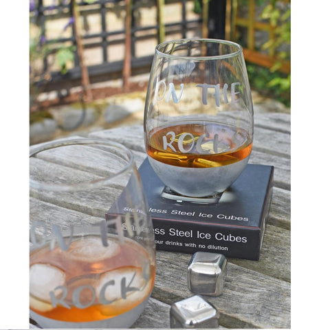 Stainless Steel Drinks Cooling Cubes, Wine gifts