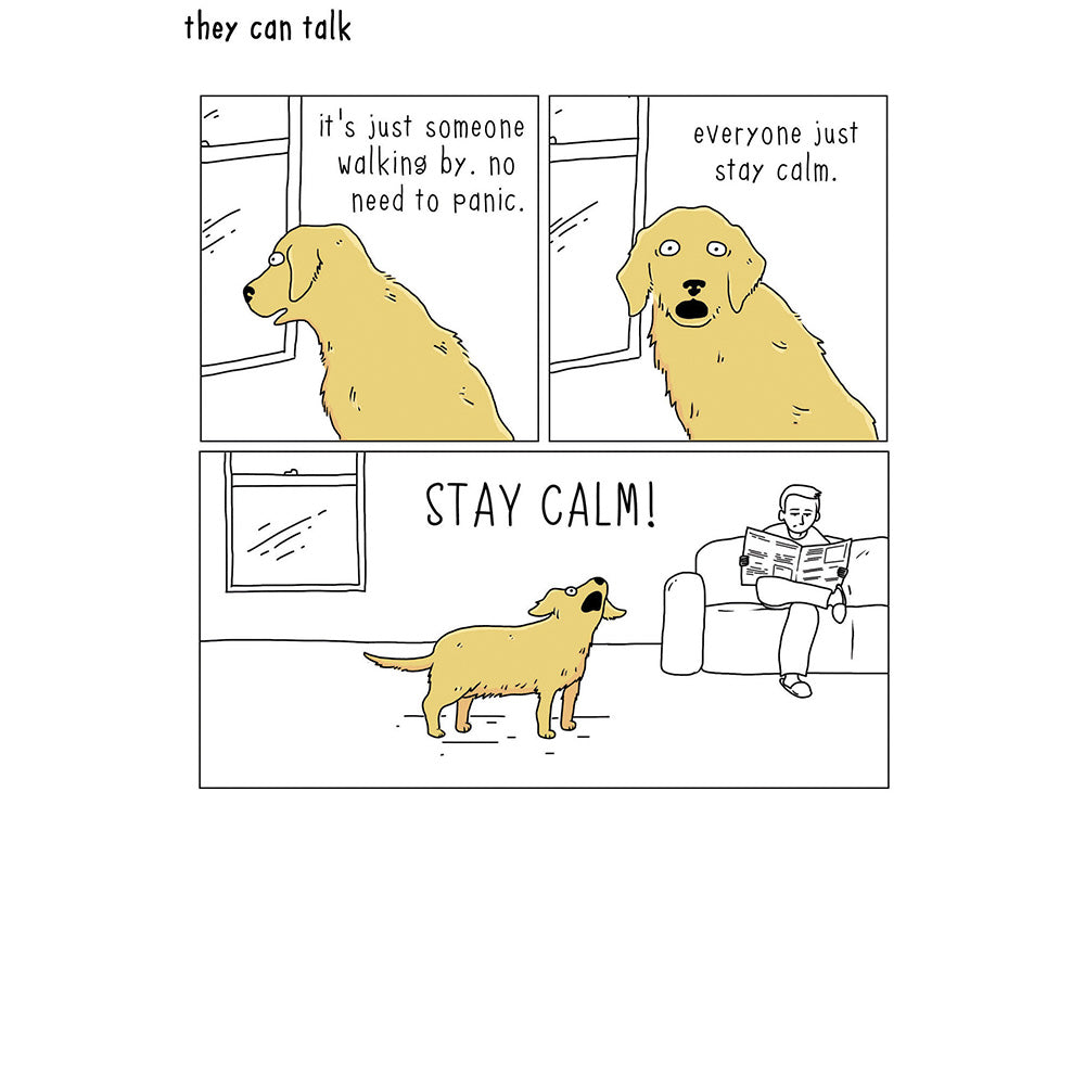 Stay Calm Card