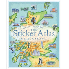 Sticker Atlas of Scotland