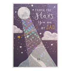 Thank the stars Dad