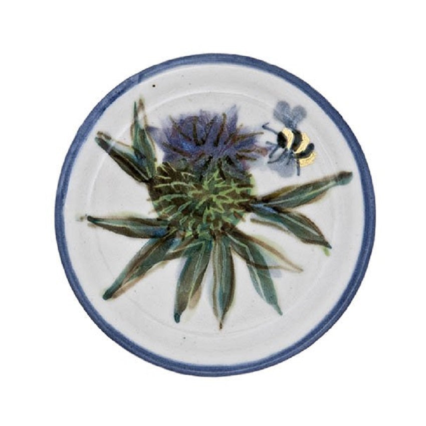 Thistle Stoneware Coaster, Coasters and place mats