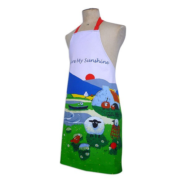 Thomas Joseph Ewe Are My Sunshine Apron, Kitchen Textiles