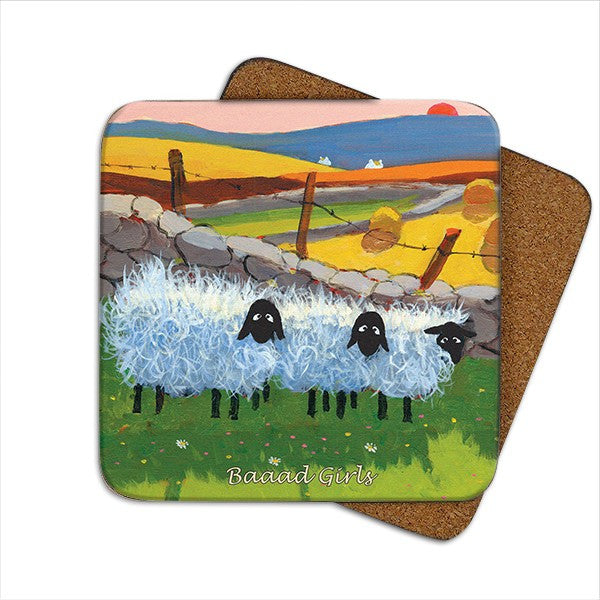 Thomas Joseph Baaad Girls Coaster, Coasters and place mats