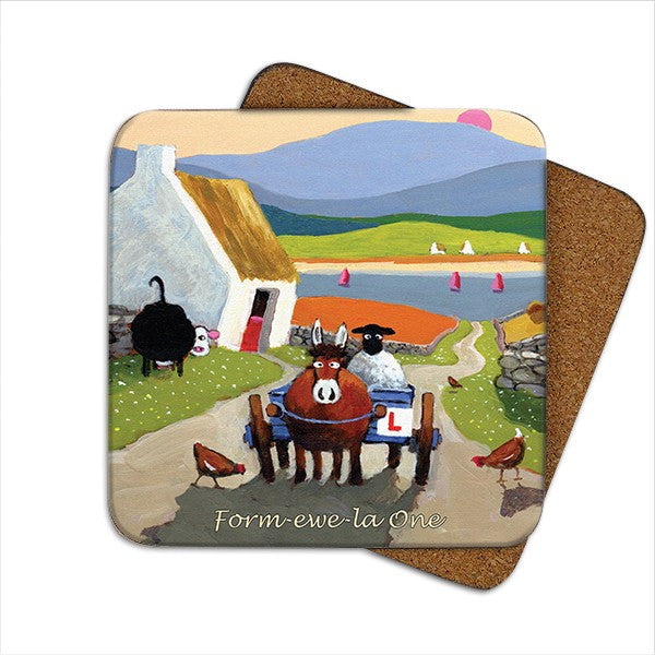 Thomas Joseph Form-ewe-la One Coaster, Coasters and place mats