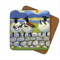 Thomas Joseph Bl-ewe Grass Coaster, Coasters and place mats