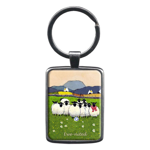Thomas Joseph Ewe-Nited Keyring, Organising and storage