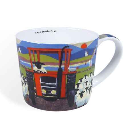 Thomas Joseph Form-ewe-la One Mug, Mugs