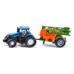 Siku New Holland Tractor with Crop Sprayer
