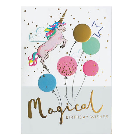 Magical Birthday wishes Card