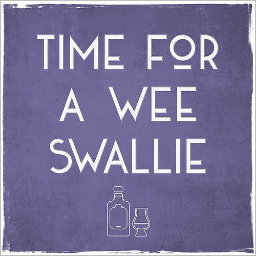 Time For A Wee Swallie Card