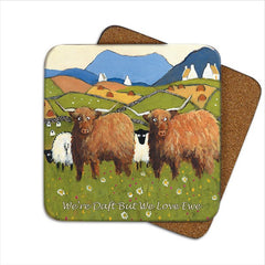 Thomas Joseph Daft But Love Ewe Coaster, Coasters and place mats