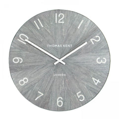 Wharf Wall Clock in Limestone