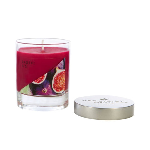 Exotic Fig Small Glass Candle