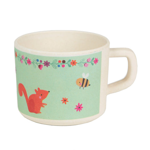 Woodland Friends Kid's Mug, kids eating & drinking