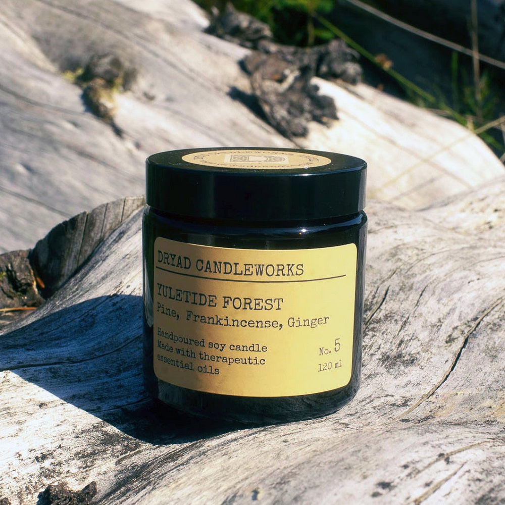 Yultide Forest Candle Jar 120ml