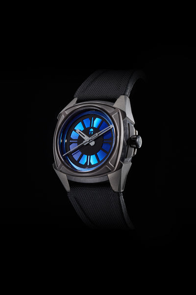 Elemental Cobalt Blue - Carbon Fiber, Ceramic and Titanium