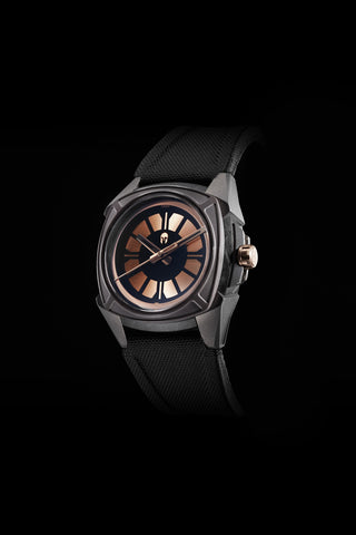 Elemental Rose Gold - Carbon Fiber, Ceramic and Titanium