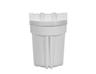 "White Ridge Cap Filter Housing for 5"" Cartridges with 1/4"" Ports - Healthy Bowls"
