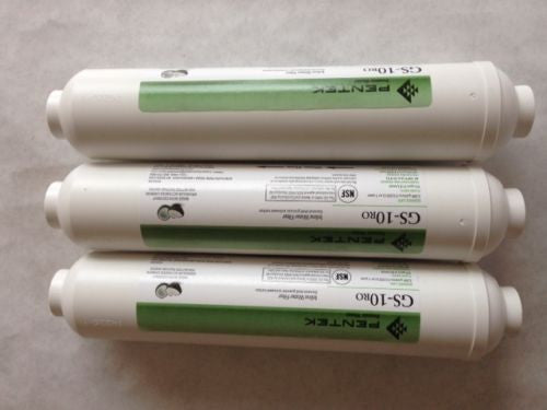 "3 Pack Pentek GS-10RO-B 10"" x 2"" inline Water Filter 255521-43 New - Healthy Bowls"