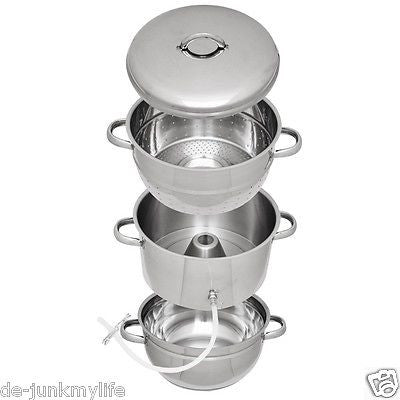 Victorio Multi-Use Stainless Steel Steam Juicer Vegetable Steamer VKP1140 - Healthy Bowls