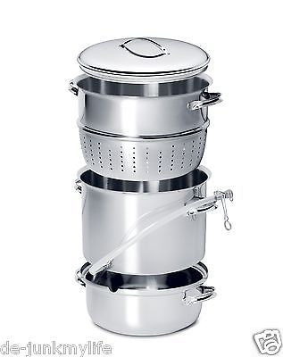 New Mehu-Liisa Stainless Steel Steam Juicer 11 Liter - Healthy Bowls