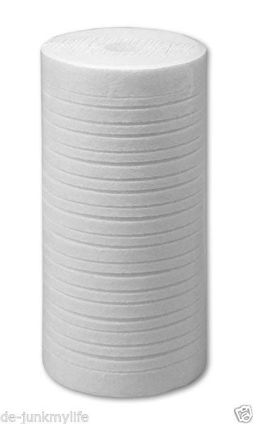 "10"" x 2.5"" 5 Micron Grooved Melt Blown Polypropylene Filter Replace Aqua-Pure AP810 - Healthy Bowls"