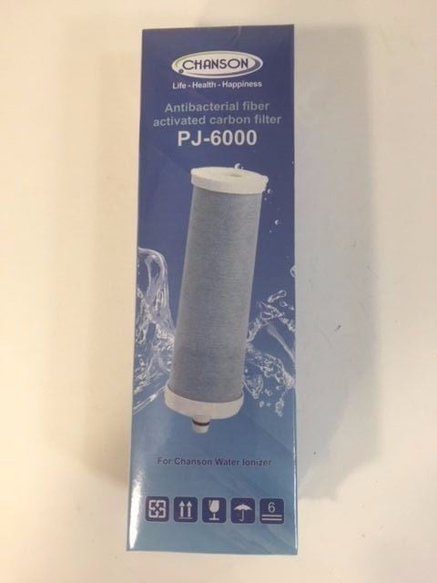PJ-6000 Replacement Carbon Filter for Chanson Water Ionizers New - Healthy Bowls