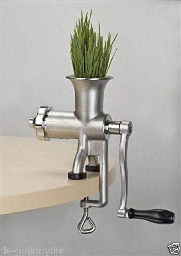 Miracle Stainless Steel Manual Wheatgrass Juicer MJ445 New - Healthy Bowls