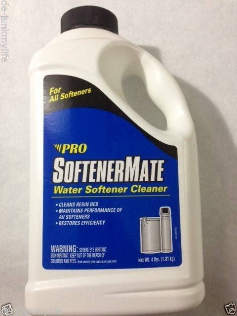 6 Softener Mate SM65N City Water Softener Cleaner, 4 Pounds - Healthy Bowls