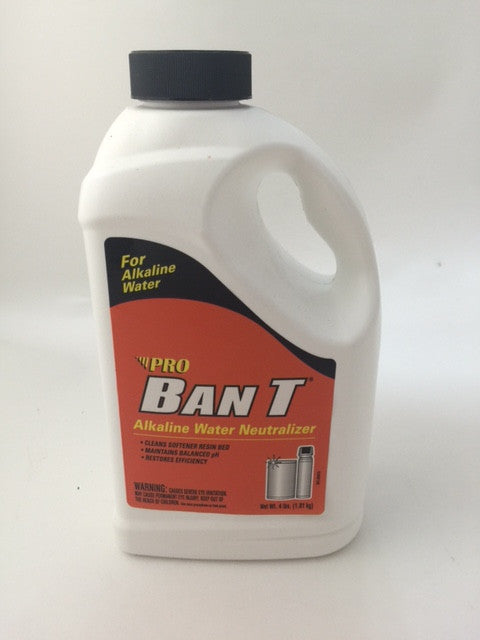 Ban-T® Water Softener Iron Removal Alkaline Water Neutralizer & Cleaner 1.5 LB Bottle - Healthy Bowls