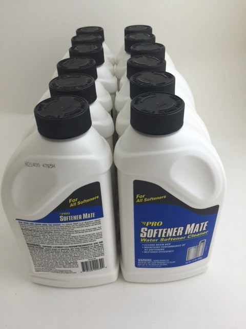 12 PK Pro Product Softener Mate SM12N All Purpose Water Softener Cleaner 1.5LB - Healthy Bowls