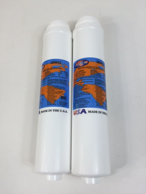 2 Pack Omnipure Q5640 / Q5633 (Same filter Q5633 Label will be sent)Replacement Filter Cartridge - Healthy Bowls