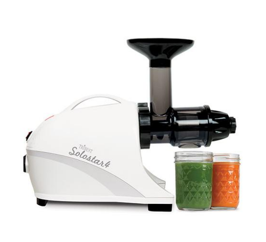 Tribest Solostar 4 Horizontal Slow Masticating Juicer New SS-4200-B - Healthy Bowls