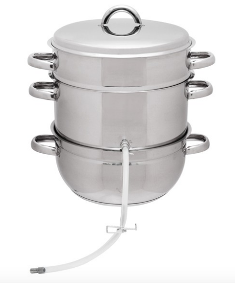 Victorio Multi-Use Stainless Steel Steam Juicer Model VKP1140 Formal VKP1047 New - Healthy Bowls