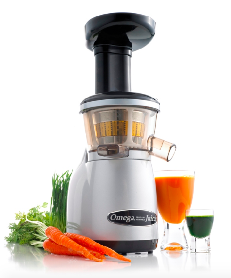 Omega VRT350 Heavy Duty HD Dual-Stage Vertical Single Auger Low Speed Juicer New - Healthy Bowls