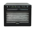 Tribest Sedona Digital Food Dehydrator Stainess Steel Black SD-S9000 New - Healthy Bowls