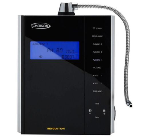 New Chanson Revolution Water Ionizer 9-Plate Light Duty Commercial Ionizer - Healthy Bowls