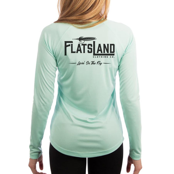 Flatsland Clothing Company LLC - Flatsland Logo V.2 Ladies Performance Shirt - Performance Shirt