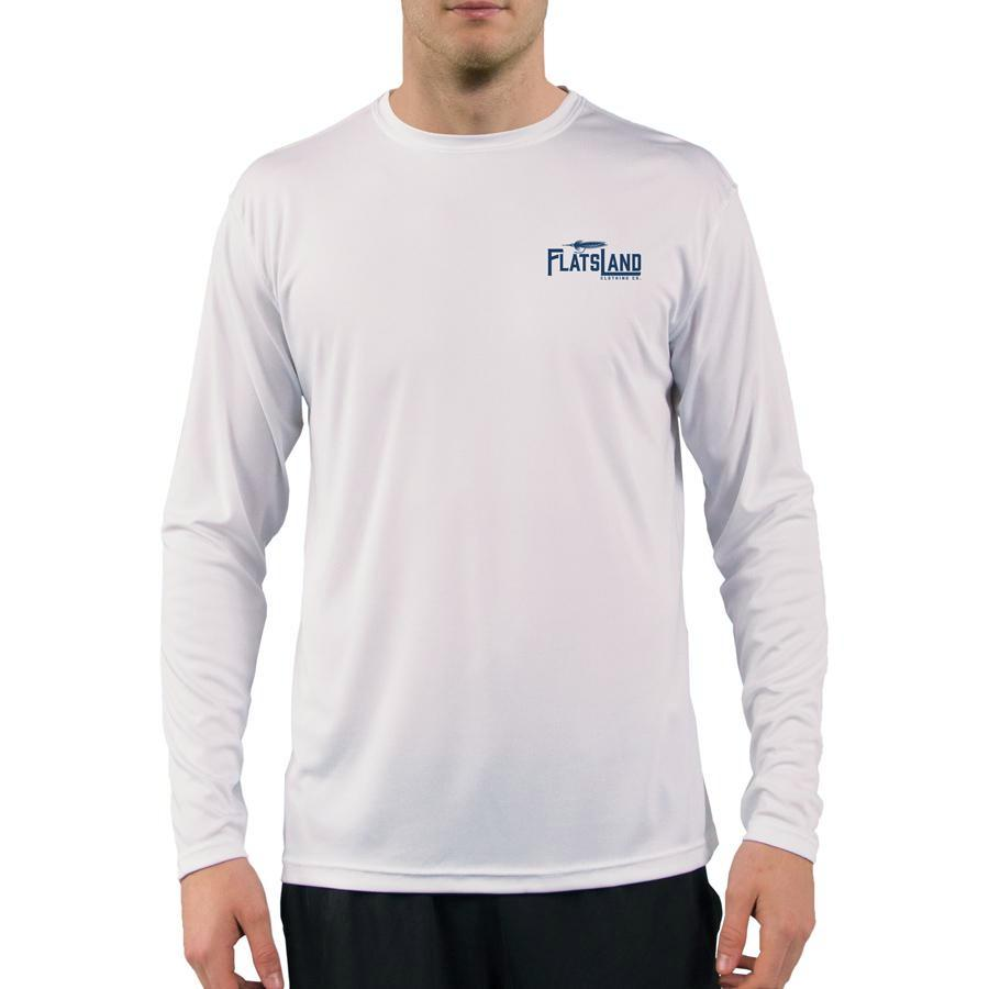 Flatsland Clothing Co. - Home Sweet Flats Performance Shirt - White - Performance Shirt