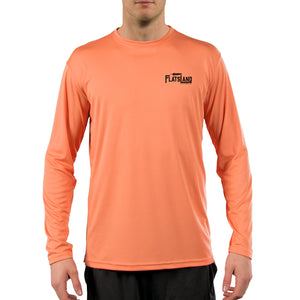 Flatsland Clothing Co. - Flatsland Logo v.2 Performance Shirt - Citrus - Performance Shirt