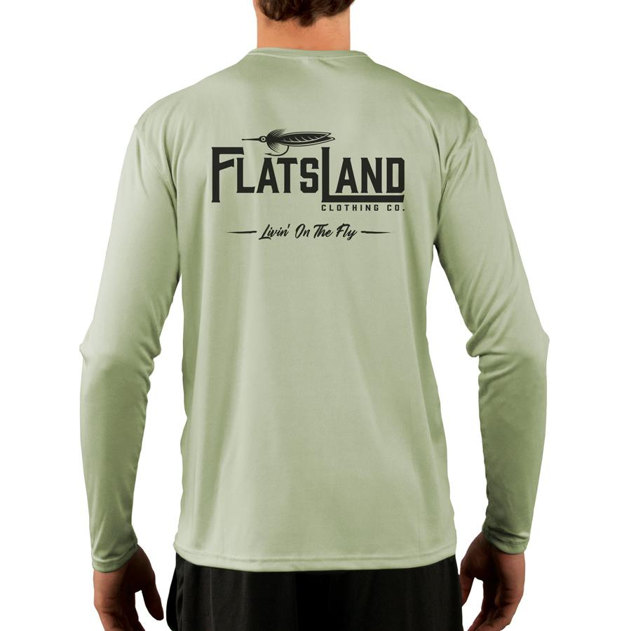 Flatsland Clothing Company LLC - Flatsland Logo V.2 Performance Shirt - Performance Shirt