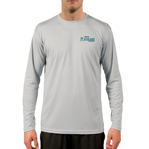 Flatsland Clothing Co. - Linesider Performance Shirt - Pearl Grey - Performance Shirt