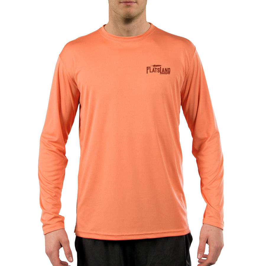 Flatsland Clothing Co. - Silver King Performance Shirt - Citrus - Performance Shirt
