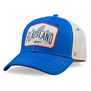 Flatsland Clothing Co. - Red Tails Rising Trucker Hat - Royal - Hats