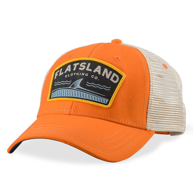 Flatsland Clothing Company LLC - Rollers Trucker Hat - Orange - Hats