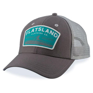 Flatsland Clothing Company LLC - Rollers Trucker Hat - Charcoal - Hats