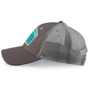 Flatsland Clothing Co. - Rollers Trucker Hat - Charcoal - Hats