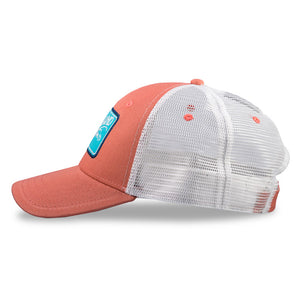 Flatsland Clothing Company LLC - Vintage Flatsland Trucker Hat - Nantucket Red - Hats