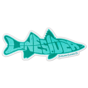 Flatsland Clothing Co. - Linesider Sticker - Stickers