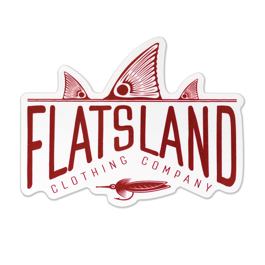 Flatsland Clothing Company LLC - Red Tails Rising Sticker - Stickers